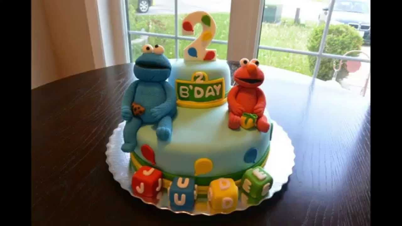 The making of a Sesame Street cake YouTube