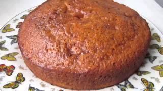Постный пирог с курагой (без масла)