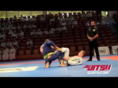 Keenan Cornelius vs Braulio Estima World Professional Jiu Jitsu Championship Abu Dhabi 2014