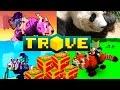 Trove #2 - Открываем Panda Adventurer's Chest (60 коробок)