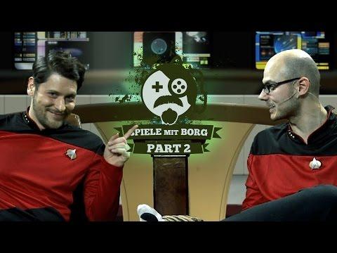 [2] Spiele mit Borg mit Simon und Gregor | Spiele mit Bart Star Trek-Spezial | 07.06.2016