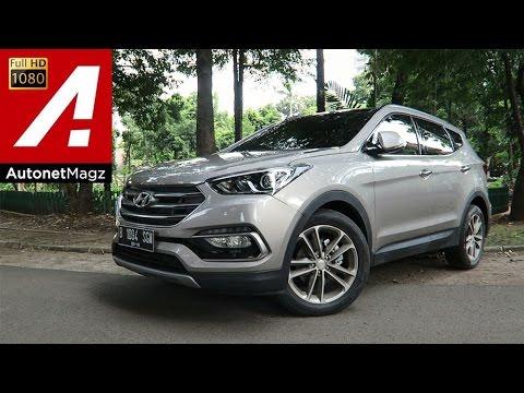 Test drive Hyundai Santa Fe CRDi facelift 2016