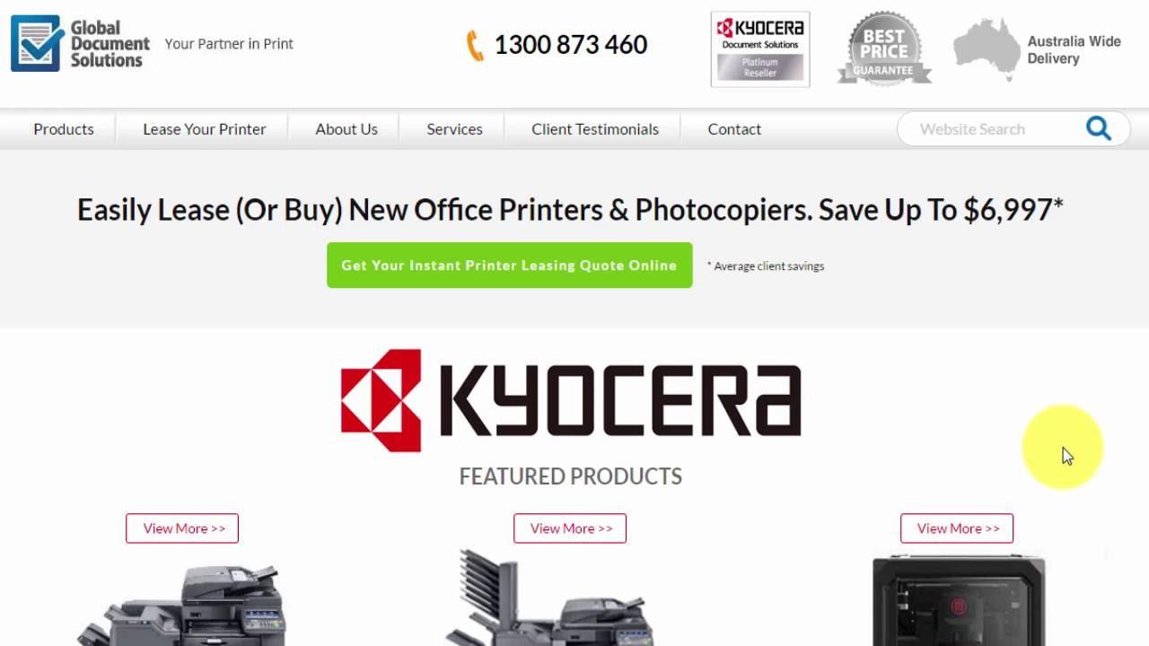 Kyocera TASKalfa 4053ci - Global Document Solutions