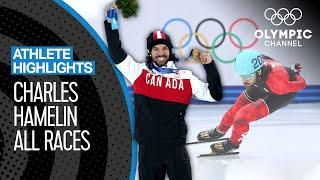 Charles Hamelin 🇨🇦 All Medal races | Athlete Highlights
