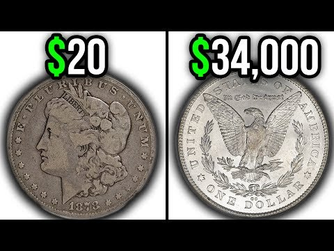 Here's Why These Silver Dollar Coins Are Worth A LOT Of Money!! 1878 Morgan Dollar Coin Values
