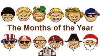The Months of the Year Rock Song - The Kids