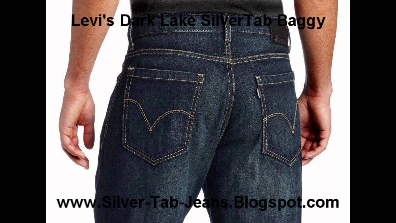 Silver Tab Jeans Dark Lake Color Dark Blue Clean Look SilverTab