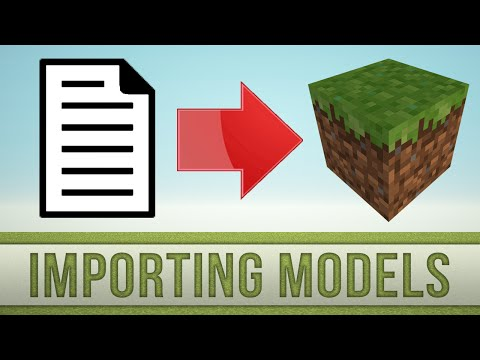 how to import json models into minecraft resourcepack workbench
