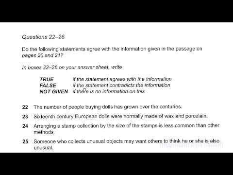 IELTS Reading Реальный пример + отвечаем вместе на вопросы