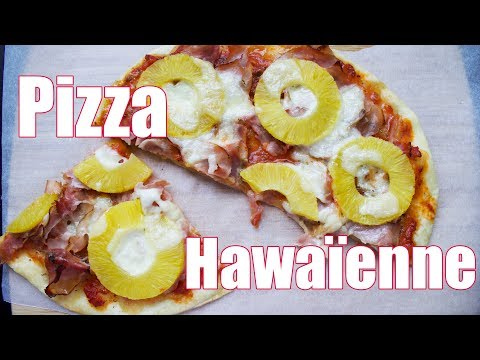 pizza-hawaïenne-jambon-ananas-🍕🍍