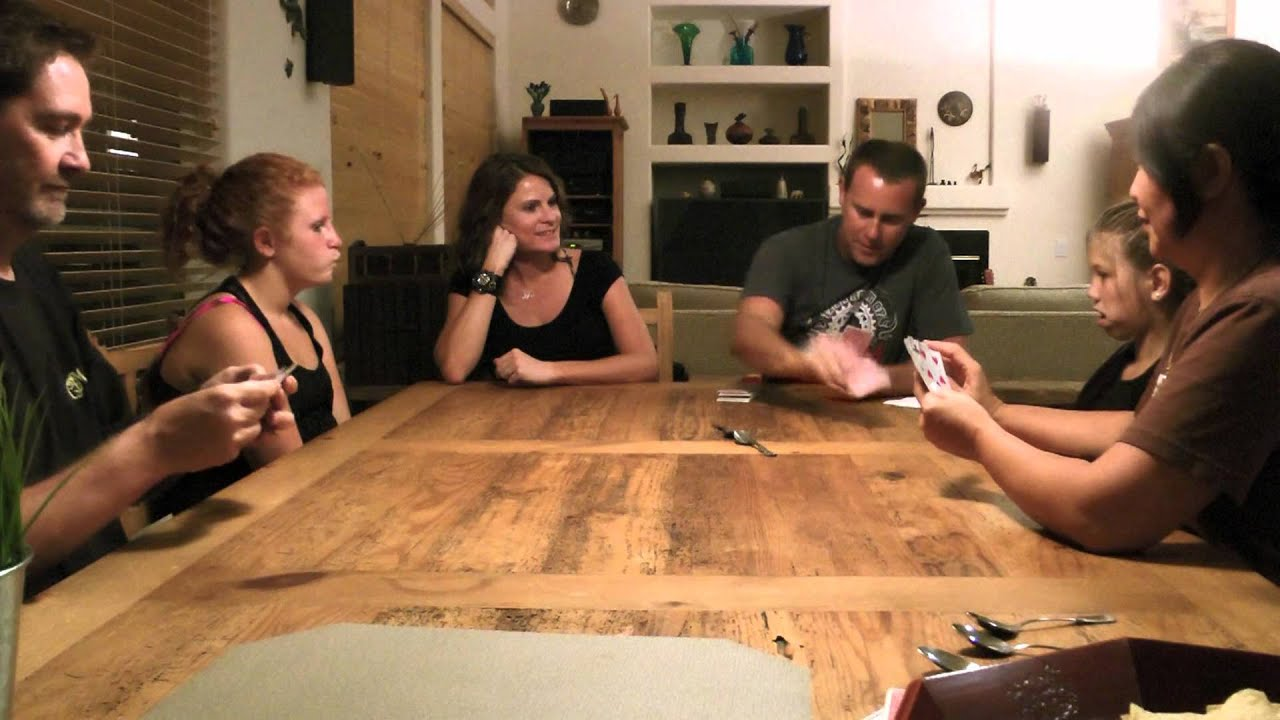 Spoons The Card Game So Easy And Fun To Play Rules Below Youtube