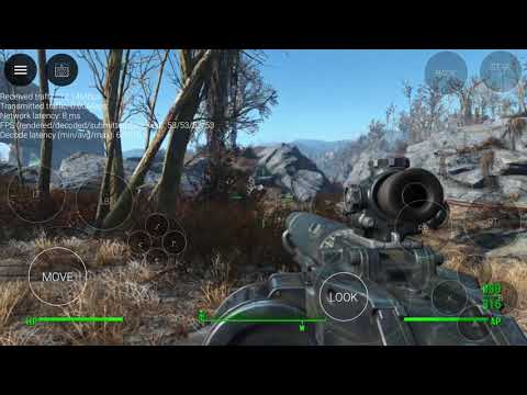 Playing Fallout 4 On Android - No PC Required - New Service