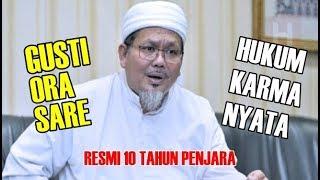 Tuhan Tidak Tidur! Dulu Jadi Panutan, Kini Tengku Zulkarnain Resmi 10 Tahun Dipenjara