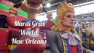 New Orleans Mardi Gras World Tour, Louisiana USA
