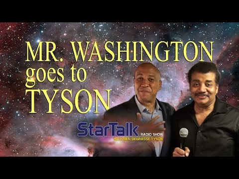 Mr. Washington goes to Tyson - Senator Cory Booker & Neil deGrasse Tyson