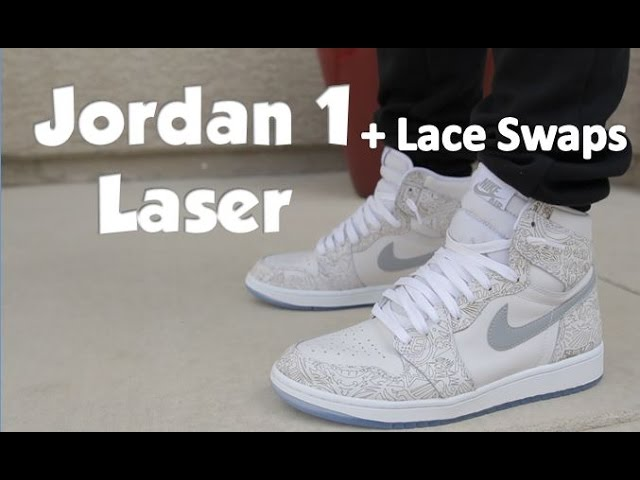 Air Jordan 1 Laser On Feet