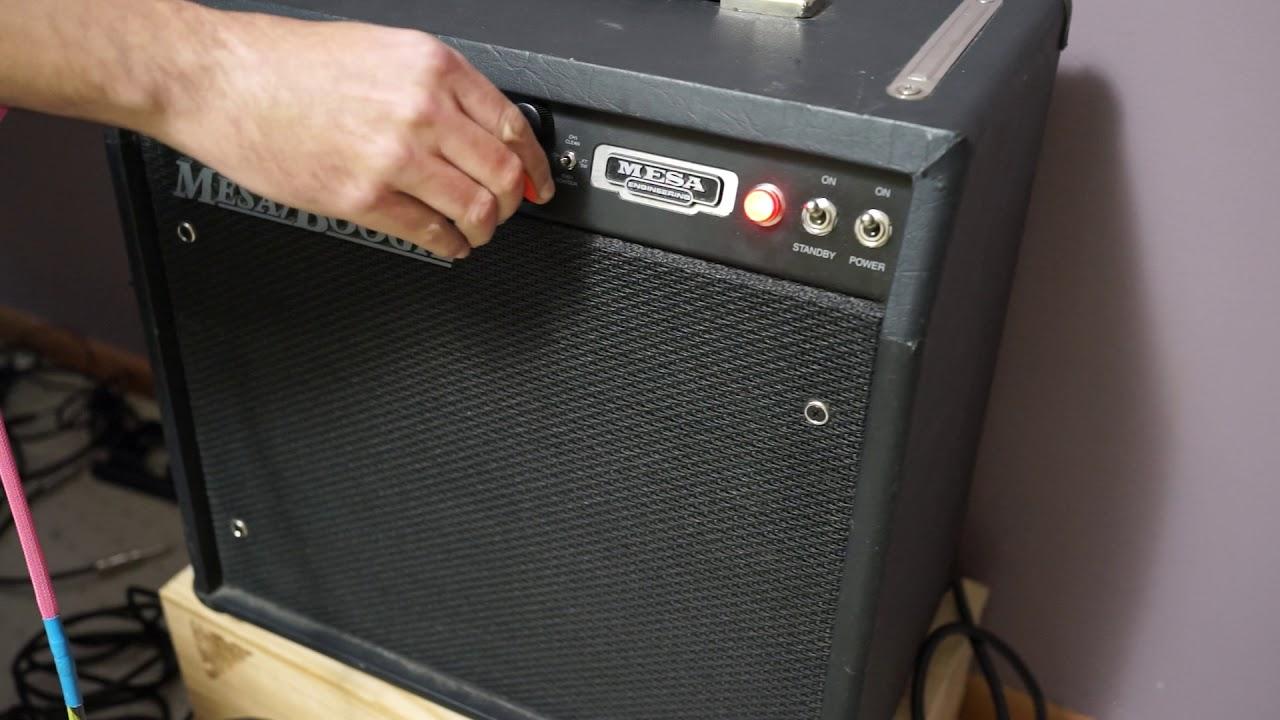 Bobby Devito Demo Mesa Boogie F30 1x12 Combo Stock Amp