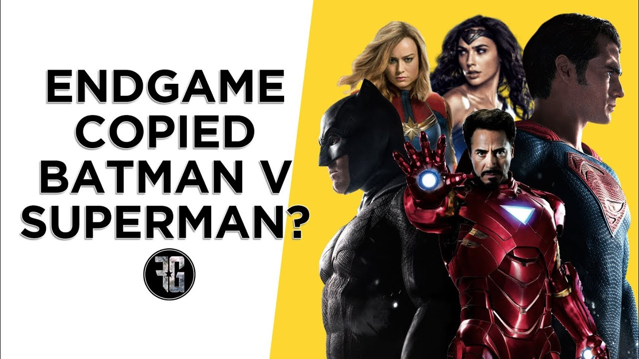 Avengers Endgames Rips Off Batman Vs Superman Cosmic Book News