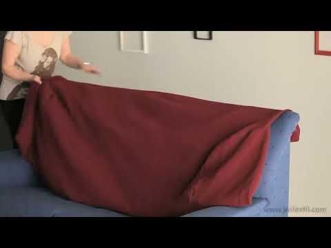 Como hacer un forro para sofa funnydog tv - Como hacer fundas de sofa paso a paso ...