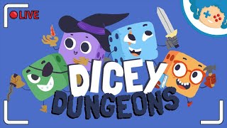 Dicey Dungeons LIVE #5 - Jester #2 i Warrior #4 | Zapis LIVE