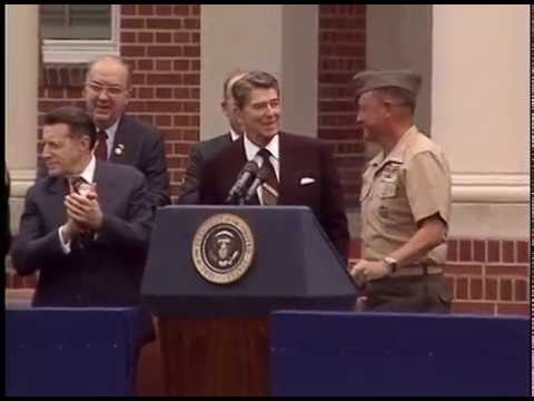 President Reagan's Remarks to Marine Recruits on Parris Island on June 4, 1986