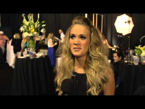 2014 CMT Music Awards Backstage with Carrie Underwood Presented by Verizon