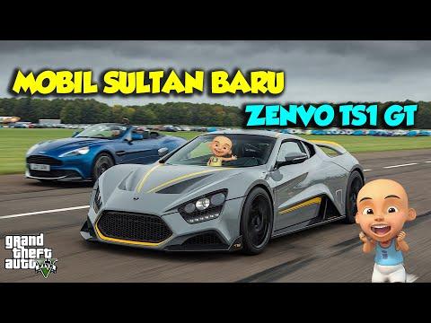 Sutan punya mobil baru Zenvo TS1 GT, Sultan Ipin ngiler – GTA V Upin Ipin Episode Terbaru 246