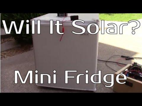 Will It Solar? - Mini Dorm Fridge