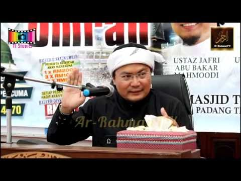 Seminar Umrah - Ustaz Jafri Abu Bakar - Jadual Ibadah Ketika Menunaikan Umrah