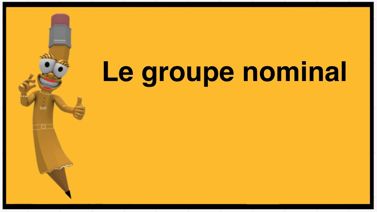 Download Le groupe nominal