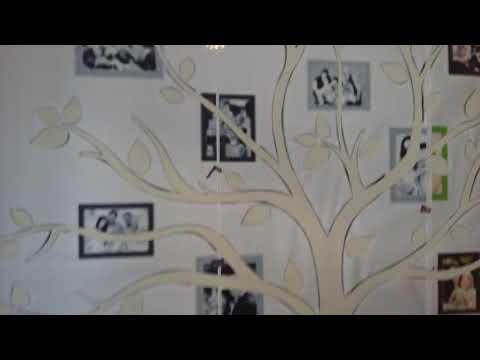 Жидкие обои Караганда семейное дерево шаблон рисунок