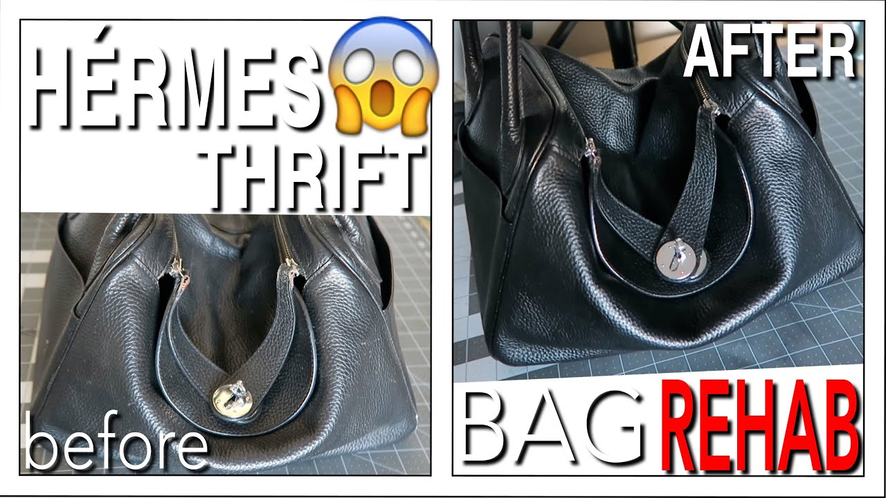 0a4565d3de29 HERMES THRIFT BAG REHAB - YouTube