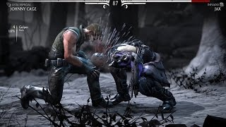 MORTAL KOMBAT X: JOHNNY CAGE (INCREIBLES COMBATES)