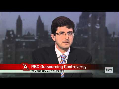 Sean Silcoff: RBC Outsourcing Controversy