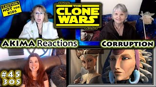 The Clone Wars 305 | Corruption | AKIMA Reactions