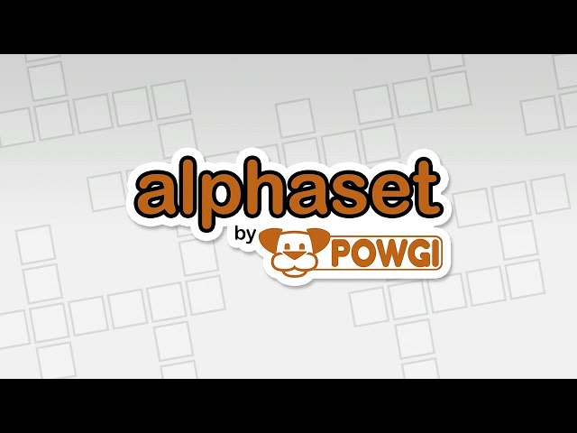 Alphaset By POWGI (PS4/PSVITA/PSTV/Switch) Platinum Trophy Guide/Required Solutions