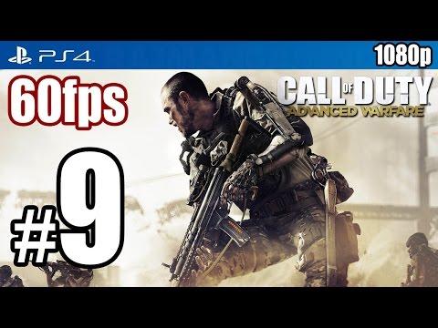 Call of Duty Advanced Warfare (PS4) Walkthrough PART 9 60fps [1080p] Lets Play TRUE-HD QUALITY