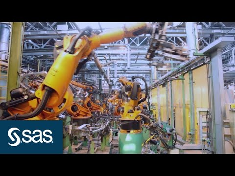Analytics Powers the Internet of Things (IoT) for the Connected Factory