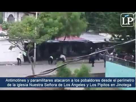 Antimotines y paramilitares atacan en Jinotega horas después de que el alcalde solicitara una tregua