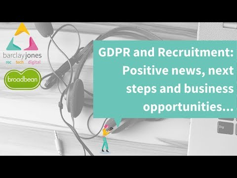 GDPR: The End of Recruitment As We Know It?