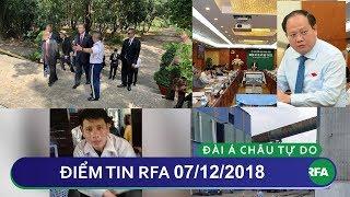 Điểm tin RFA tối 07/12/2018 | Đại sứ Hoa Kỳ đến thăm nghĩa trang Quân đội Việt Nam Cộng Hòa