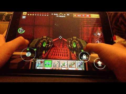 Weapon review/pixel gun 3D/ dual laser blasters