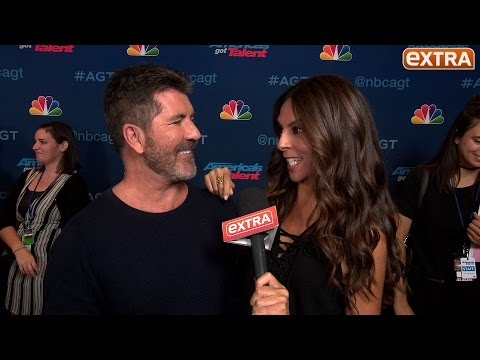 Simon Cowell's Plan for a Political 'AGT' Season Finale with Donald Trump & Hillary Clinton