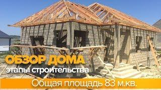 Свой дом. Проект 83 м.кв. Обзор строительства дома.