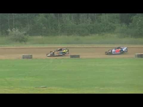 @RushSportMods Heat 1 from Expo Speedway at The Trumbull County Fair