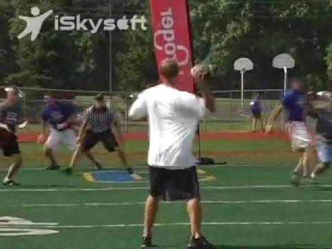 Gary Brackett Celebrity Gridiron Challenge 2009