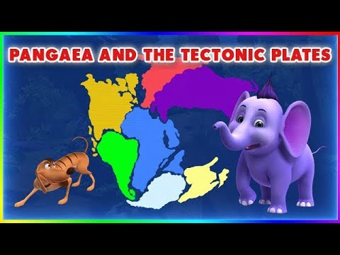 Pangaea And The Tectonic Plates (4K)