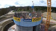 b4a71271138b4f SÜLZLE Stahlpartner - Grossprojekt ThyssenKrupp Testturm Rottweil -  Duration  2 minutes