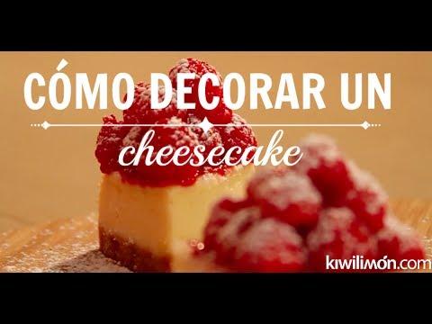 Como decorar un cheesecake youtube - Como decorar un estanque ...