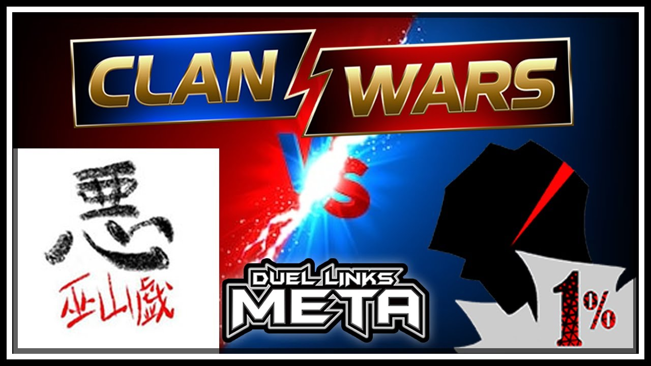 $6,600 Finals! Clan Wars: 1% VS Warufuzake! [Yu-Gi-Oh! Duel Links]